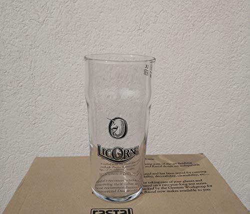 licorne Lots de 6 Verre Pint bière 50 cl