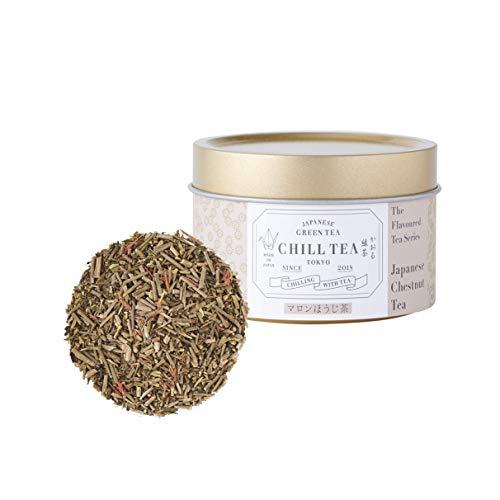 Japanischer Kastanien-Hojicha Grüntee von CHILL TEA Tokyo - 100% Japanischer Tee - Kastaniengeschmack (30g)