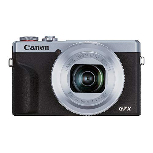 Canon PowerShot G7X Mark III Digital 4K Video Vlogging Camera with Wi-Fi, NFC and...