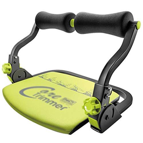 Bauchmuskeltrainingsgeräte, Fitnessgeräte, geeignet für Krafttraining, Bauchmuskelmassagegerät (Color : Black, Size : 55 * 43 * 37cm)