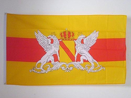 AZ FLAG Flagge GROßHERZOGTUM Baden 1806-1918 150x90cm - BADE Fahne 90 x 150 cm - flaggen Top Qualität