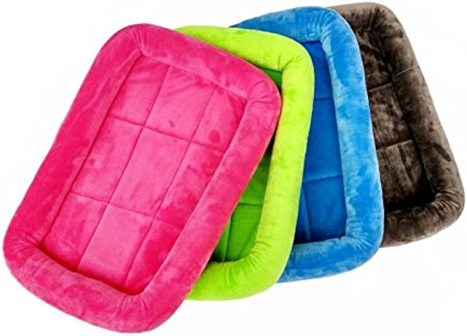 Fashion Shop Smooth Soft Blanket Mat Paf for Dogs 2sizes and 5 colors for Choose (Green, M 24 16 2.2 )