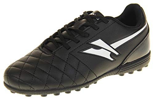 Gola - Activo 5 - Botas de fútbol infantiles, para césped aritficial, zapatillas para deporte, color Negro, talla 34 EU
