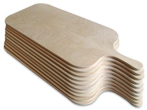 Die Schreiner - Christoph Siegel Tarte flambée Board Set of 10 – Elegant & Practical - Size XL