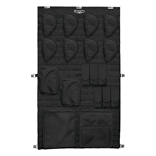 Stealth MOLLE Gun Safe Door Panel Organizer Large - Fully Customizable & Adjustable Storage Solution