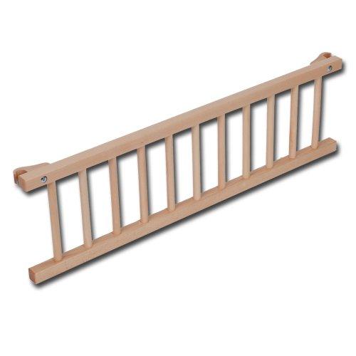 Babybay Barrière de sécurité Tobi vernie - Barrière de sécurité pour lits Babybay original et midi