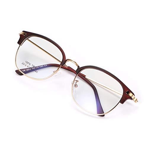 Blaulichtfilter Brillen Anti Blaulicht Computerbrille PC Gaming Brille, TV Blaufilter Brille Anti Augen Müdigkeit für Frauen und Männer