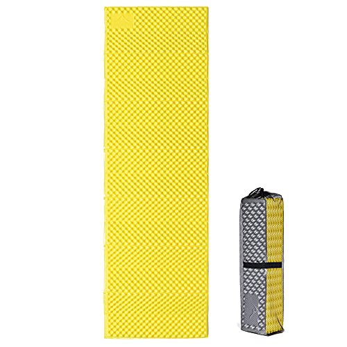 Widesea Foam Backpacking Sleeping Pad Portable Waterproof Moistureproof Soft for Outdoor Hiking Camping Picnic