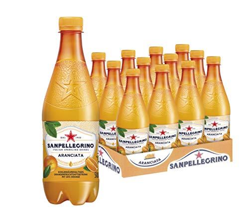 Sanpellegrino Aranciata PET Flasche Einweg, 12er Pack (12 x 500 ml)