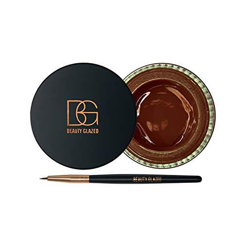 Eyeliner Eyeliner mit einem Pinsel Dauerhafte Feuchtigkeit ist die Beste Wahl als Geschenk Gor Wome Eyeliner mit Pinsel eingestellt B