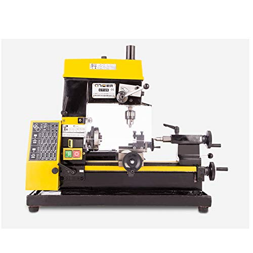 Find Bargain Hengwei Desktop Mini Lathe Drilling And Milling Machine 180W Mini Lathe Clock Machine T...
