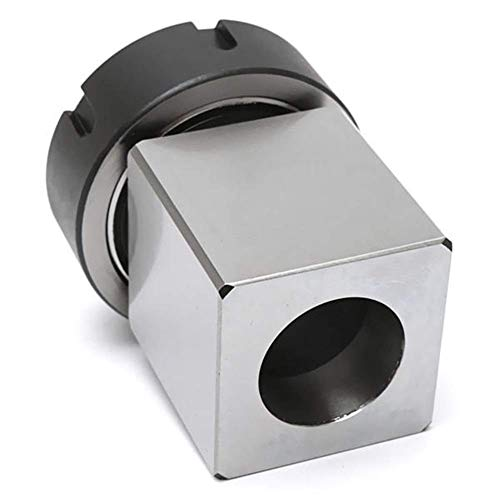 Review Of GUONING-L Tool Hard Steel Square ER-40 Collect Chuck Block CNC Lathe Tool Holder Metal Lat...