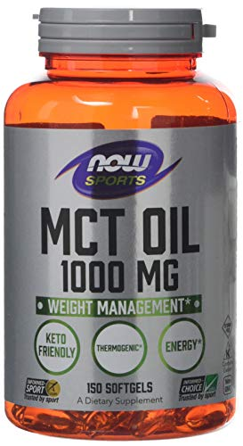 Now Foods MCT Oil softgels, 1000 mg, 150-Cou