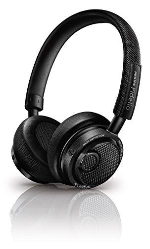 Philips Fidelio M2BTBK kabelloser OnEar Bluetooth-Kopfhörer schwarz