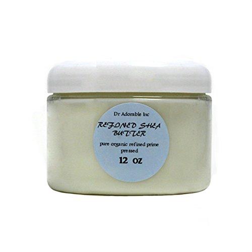 Refined Shea Butter Pure Raw 12 Oz