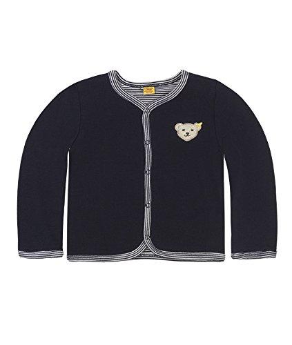 Steiff Baby-Unisex 6617 Sweatshirt, Blau Marine|Blue 3032, 86