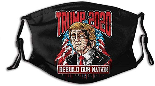 frenma Rebuild Our Nation Trump Personalized Mouth Sleeve Reusable Balaclavas Mouth