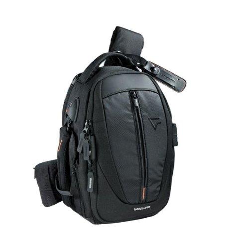 Vanguard UP-RISE II 43 Borsa Fotografica Monospalla Sling Bag Espandibile per Reflex, 27X25X48 cm, Nero