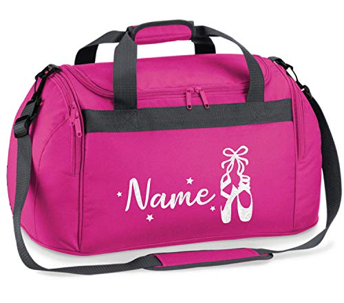 Absolutely Top Bolsa de danza personalizada para niñas Ballet Glitter Kit para niños regalo