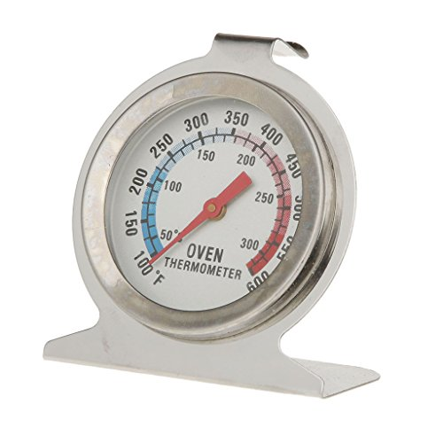 FLAMEER Backofenthermometer Backofen Grill Thermometer für Küche