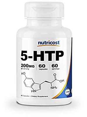 Nutricost 5-HTP 200mg, Veggie Capsules (5-Hydroxytryptophan)
