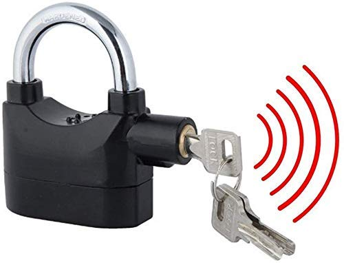 V S Enterprise Anti Theft Motion Sensor Alarm Lock for Home, Office and Bikes