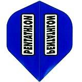 MS-DARTSHOP Dart Flights Pentathlon Standard Polyester (Blau)
