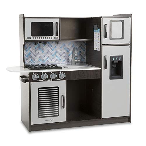 Melissa & Doug- Chef's Kitchen, Color Charcoal, Talla Única (4010)