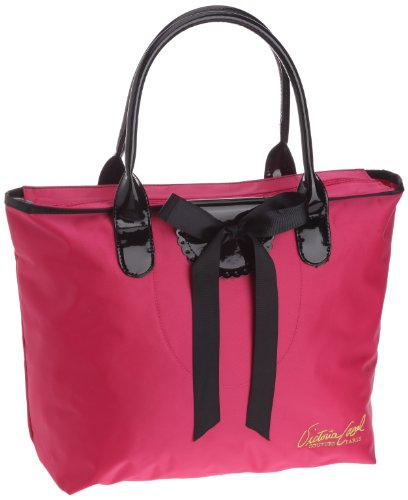 Victoria Casal Couture Cabas Horizontal, Bolso Tote para Mujer, Framboise, Talla única