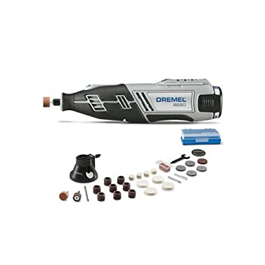 Dremel 8220-DR-RT 12V Max Cordless Lithium-Ion Rotary Tool Kit with 1.5 Ah Battery Pack (Certified Refurbished)