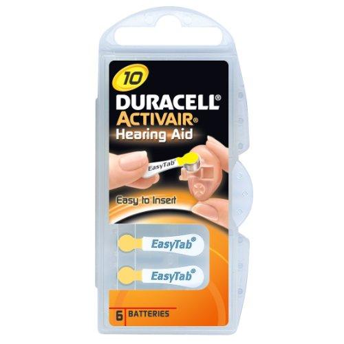 Duracell Batterie d'appareils auditifs avec 60 piles 13
