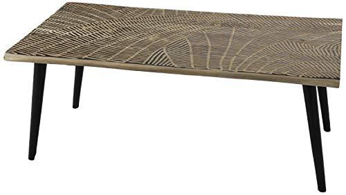 Amadeus Table Basse en Bois et métal Empreinte