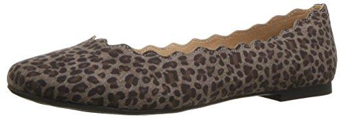Athena Alexander Women's Toffy Ballet Flat, Black Leopard, 10 M US