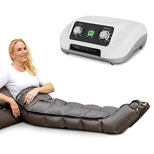 Venen Engel ® 6 Gleitwellen Massage-Gerät mit Hosenmanschette, 6 Luftkammern, Druck & Zeit unkompliziert einstellbar, ununterbrochene Massage