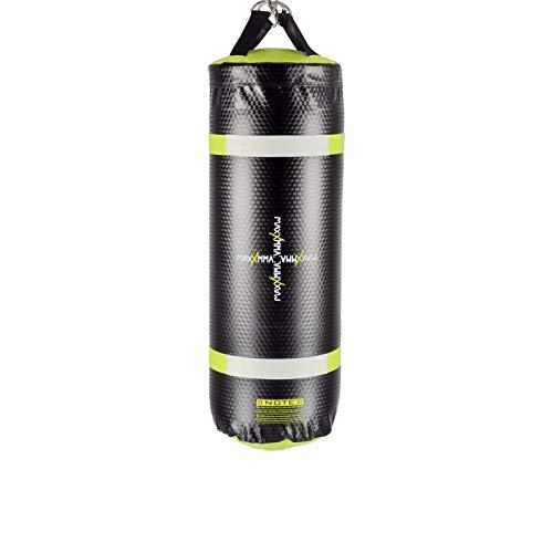 MaxxMMA Training & Fitness Water/Air Heavy Bag, Uppercut Workout Grappling MMA Punching Bag (Black/Neon Yellow)