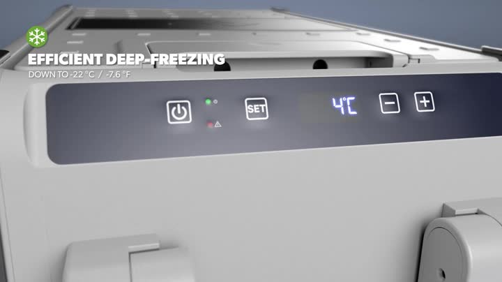 41UXFfIsGqL DOMETIC CoolFreeze CFX 28,tragbare elektrische Kompressor-Kühlbox, 26 Liter, mit USB-Anschluss, 12/24 V und 230 V für…