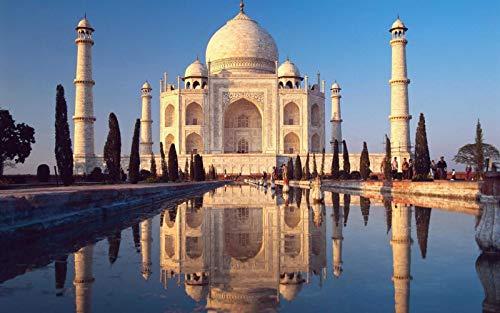 Puzzle De Madera Adulto 1000 Piezas Hermoso Taj Mahal El Mejor Regalo Para Niños O Amigos