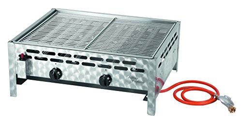 Activa 12510 2-flammiger Gastrobräter mit Grillrost