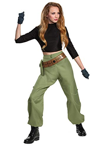 Disguise Kim Possible Animated Series Womens Kim Possible Fancy Dress Costume Medium