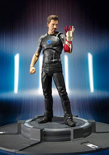 Ambattery Cartoon Charakter Grafikaktion Anime Eisen Person Tony Stark Figur Box Setcharacter Modell Statue Collectibles Dekoration