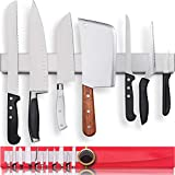 Premium 17 Inch Stainless Steel Magnetic Knife Holder
