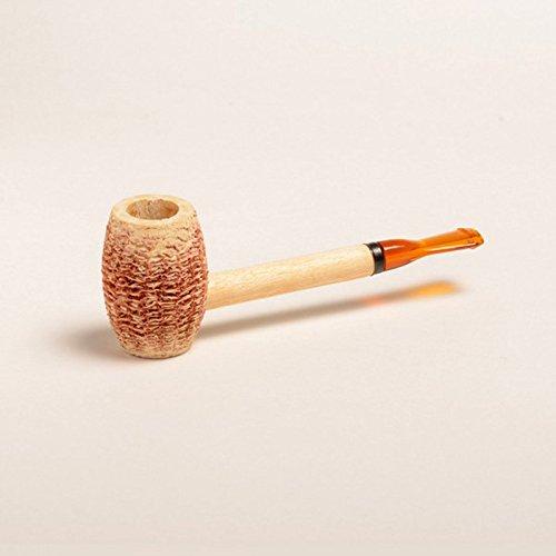 Onogal -  Pipa di Mais naturale, Eaton, realizzata con bocchino in ebanite, marchio: Missouri Meerschaum Corn Cob (6237)