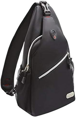 Wide strap shoulder bag