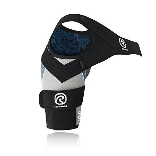Rehband Bandage Schulterbandage X-Stable rechts, Grau, L