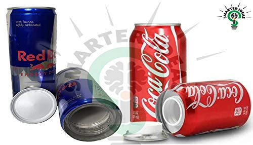 Fake Red Bull and Coke Soda Coca-Cola'Coke' Can Safe Diversion Secret Stash Safes with Hidden Storage to Hide Money Jewelry Anything