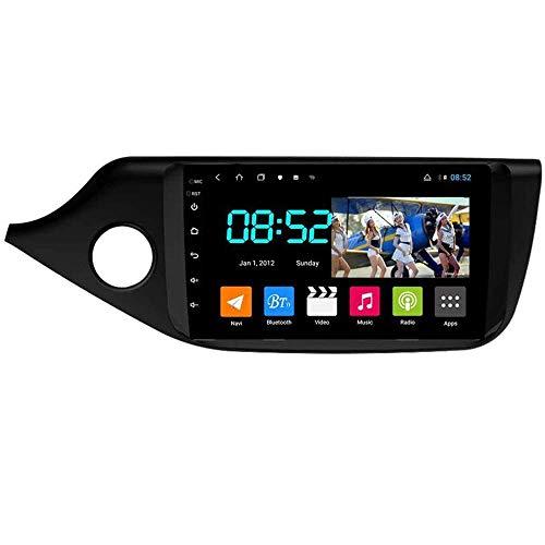 Android 8.1 Navegación GPS Autoradio 9' 1080P HD Touch Screen Estéreo TV para Kia Ceed 2013-2015, con control en el volante, Bluetooth, manos libres, Link MP5 SWC, 4G + WiFi 4G + 64G
