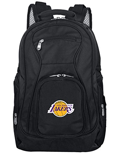 Denco NBA Los Angeles Lakers Laptop Backpack, 19-inches, Black