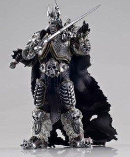 wow world of warcraft Frostmourne Arthas Lich King knight Figur Spielzeug