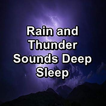 Rain and Thunder Sounds Deep Sleep