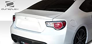 Extreme Dimensions Duraflex Replacement for 2013-2020 Scion FR-S Toyota 86 Subaru BRZ X-5 Rear Wing Trunk Lid Spoiler - 1 Piece